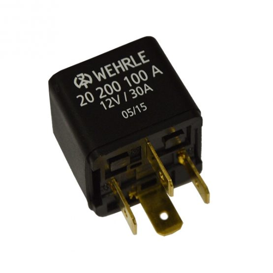 20200100A Mini Relay NO, 12V, 30A